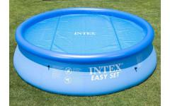 Тент солнечный прозрачный для бассейнов 244см Intex 29020 (59958)
