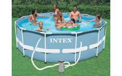 Бассейн каркасный 366х99см Intex 28718