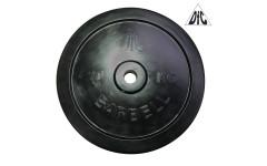 Диск обрезиненный DFC, чёрный 31мм, 20кг.
