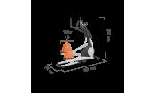 Эллиптический тренажер Proxima Senator (генератор) iPro FE-659