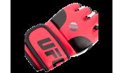 Перчатки MMA тренировочные с открытой ладонью (Красные S/M) UFC
