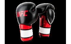 Перчатки MMA для работы на снарядах (Чёрные 14 Oz) UFC
