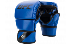Перчатки MMA для спарринга 8 унций (Синие L/XL) UFC