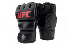 Перчатки MMA для грэпплинга 7 унций (Чёрные L/X) UFC
