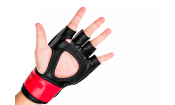 Перчатки MMA для грэпплинга 5 унций (Красные S/M) UFC