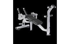 Скамья для скручивания MATRIX MAGNUM MG-PL50  (серебристый)